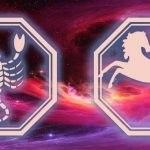 знаки скорпиона и лошади
