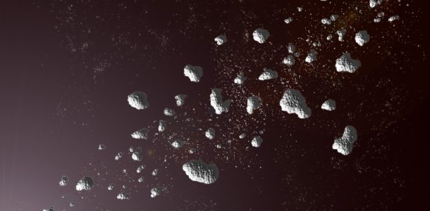 к земле летит астероид 2020