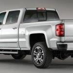 Chevrolet Silverado белый фото