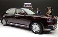 Новые российские автомобили Aurus 2020 года