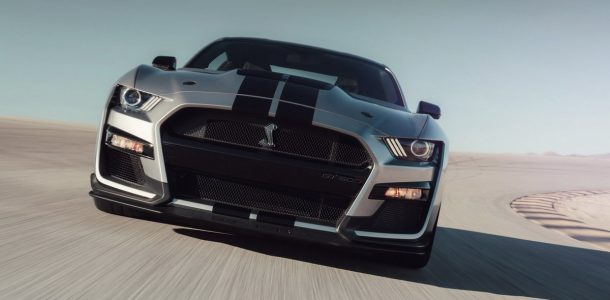 Mustang Shelby GT500 2020 года