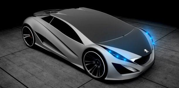 Peugeot концепт фото