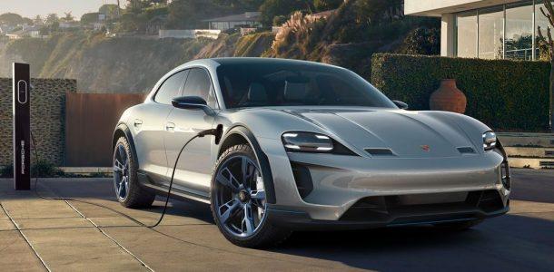 электромобиль Porsche 2020