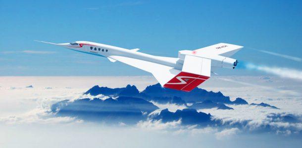 сверхзвуковой самолет 2020