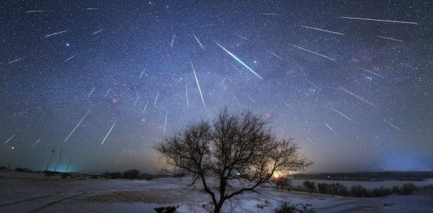 искуственный метеоритный дождь 2020