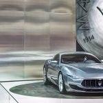 Maserati Alfieri 2020 на выставке